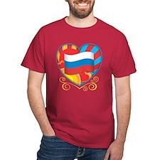 Russian Heart T-Shirt