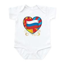 Russian Heart Infant Bodysuit