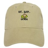 Eat ... Sleep ... OATMEAL Baseball Cap