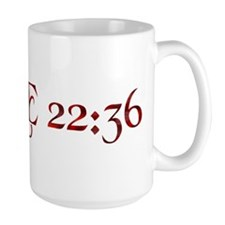 "Luke 22:36 ""Sell your cloak and buy a sword"" Mug"