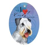 Cesky Terrier Oval Ornament
