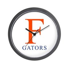 F | Gators - Wall Clock