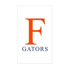 F   Gators - Rectangle Decal