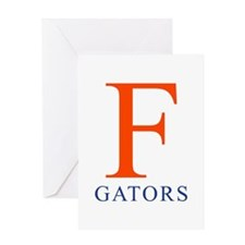F   Gators - Greeting Card