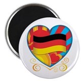 German Heart Magnet