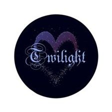 "Twilight Sparkle Heart 3.5"" Button"
