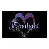 Twilight Sparkle Heart Rectangle Decal