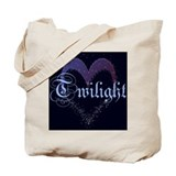 Twilight Sparkle Heart Tote Bag