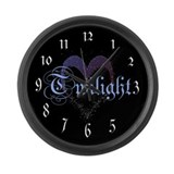 Twilight Sparkle Heart Large Wall Clock