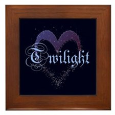 Twilight Sparkle Heart Framed Tile