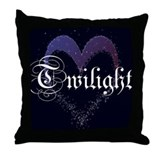 Twilight Sparkle Heart Throw Pillow