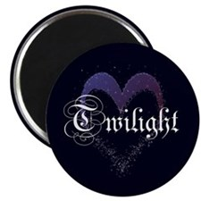 "Twilight Sparkle Heart 2.25"" Magnet (100 pack)"