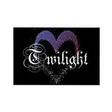 Twilight Sparkle Heart Rectangle Magnet (100 pack)