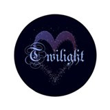 "Twilight Sparkle Heart 3.5"" Button (100 pack)"