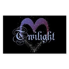 Twilight Sparkle Heart Rectangle Sticker 10 pk)