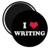 "I Love Writing 2.25"" Magnet (10 pack)"
