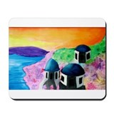 Unique Santorini Mousepad