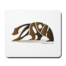 Zach (Brown Bear) Mousepad