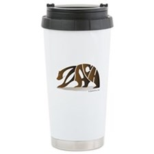 Zach (Brown Bear) Ceramic Travel Mug
