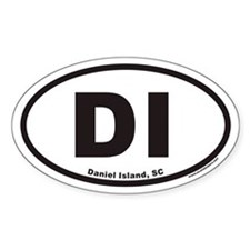 Daniel Island DI Euro Oval Decal
