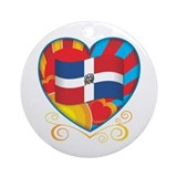 Dominican Ornament (Round)