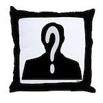 THE MAN Throw Pillow