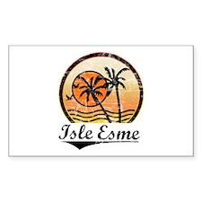 Isle Esme Rectangle Sticker