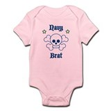 Navy Brat: Boys Infant Bodysuit