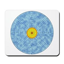 Labyrinth Lotus Mousepad