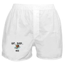 Eat ... Sleep ... RICE Boxer Shorts