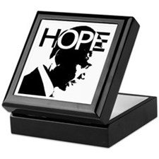 Obama hope Keepsake Box