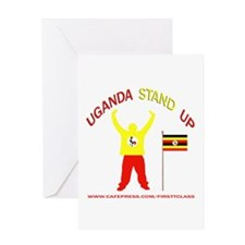 REP UGANDA Greeting Card