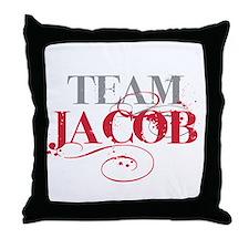 Team Jacob Throw Pillow