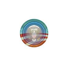 Obama Presidential Logo Mini Button