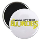 Sailors love their blondes Magnet