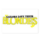 Sailors love their blondes Postcards (Package of 8