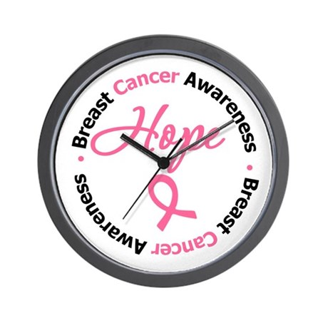 Breast Cancer HOPE Wall Clock