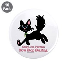 "I'm Perfect 3.5"" Button (10 pack)"
