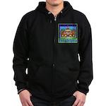 Love Pennsylvania Zip Hoodie (dark)