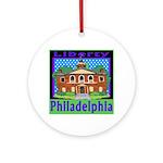 Love Pennsylvania Ornament (Round)