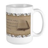 P&P Reading Quote Mug