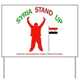 REP SYRIA Yard Sign