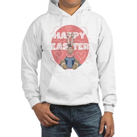Girl Bunny Hooded Sweatshirt