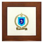 DESCHENES Family Crest Framed Tile