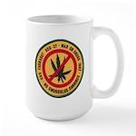 U S S Farragut Large Mug