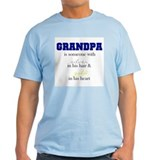 Grandpa - Silver & Gold T-Shirt