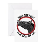 Horse Not the Boss Of Me Greeting Cards (Pk of 10)