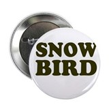 "Snow Bird 2.25"" Button (10 pack)"