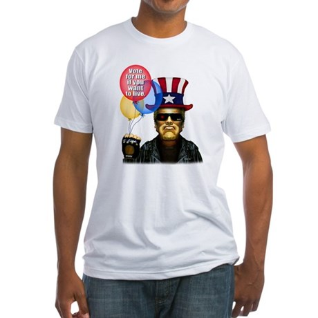 Vote for me if you want to li Fitted T-Shirt