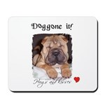 SWEET DOG LOOK  Mousepad